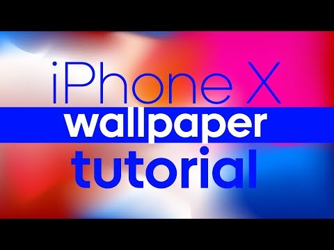 how-to-make-iphone-x-wallpaper---tutorial-+-download