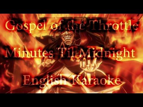 Drifters - Gospel of The Throttle Karaoke [English]
