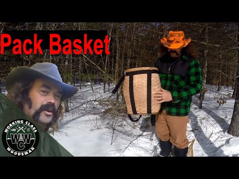 The Good Old Pack Basket And Its Many Uses