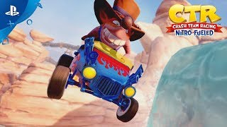 Crash Team Racing Nitro-Fueled – Customization Trailer | PS4