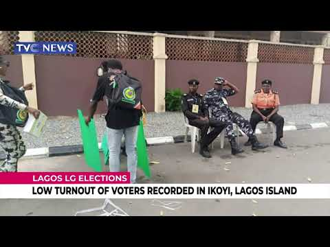 Lagos LG Elections: Low Turnout Of Voters Recorded In Ikoyi, Lagos Island