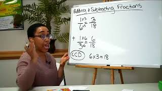 Adding and Subtracting Fractions | *LIVE STREAMED ON FACEBOOK*
