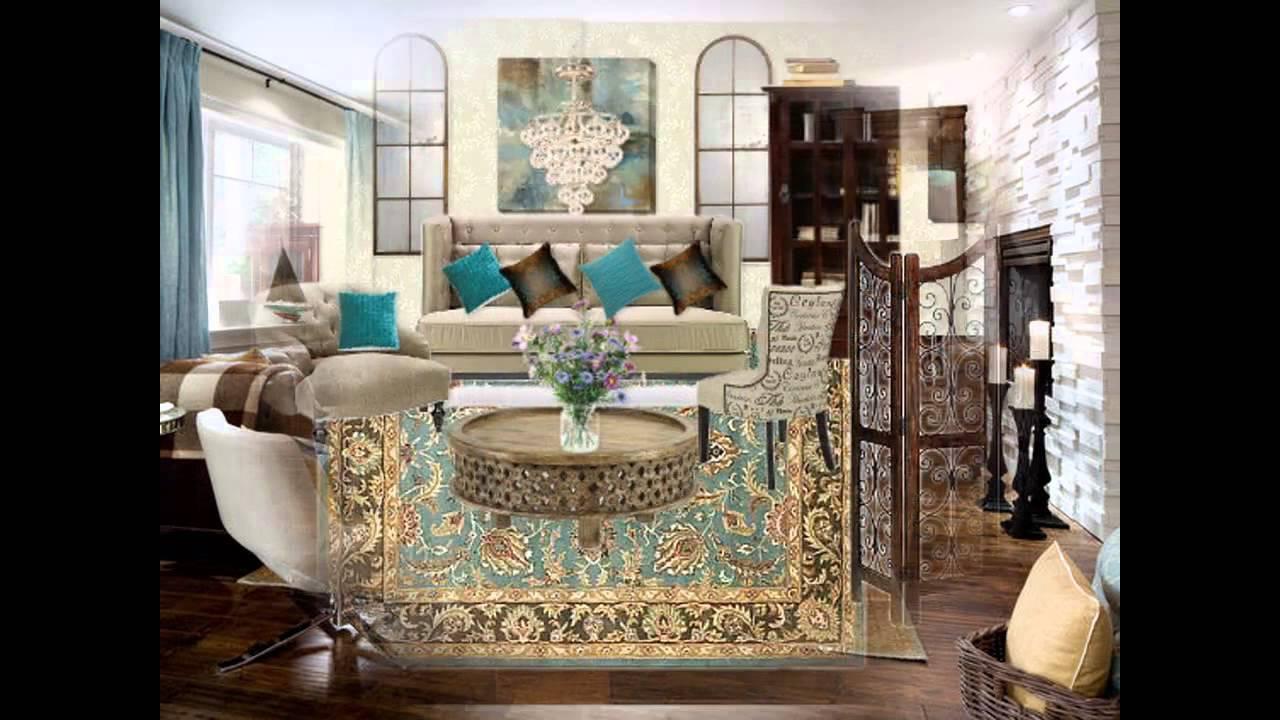 astounding teal brown living room ideas | Fascinating Brown and teal living room ideas - YouTube