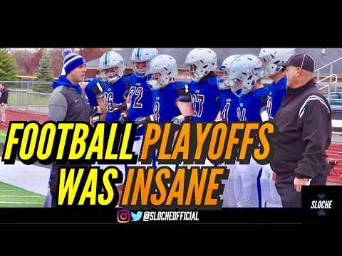 CRAZY ILLINOIS FOOTBALL PLAYOFFS MATCHUP!! | Undefeated Rolling Meadows Takes On St. Charles North!