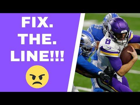 Minnesota Vikings and Kirk Cousins deserve a better offensive line