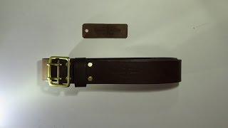 "портупея от мастерской ""Handy Beast Leather"" - Видео от Ш МС"