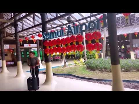 Koh Samui Airport Departures and Arrivals - Thailand