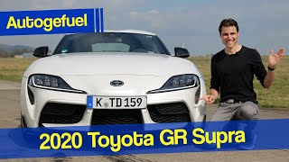 4-cylinder vs 6-cylinder: 2020 Toyota Supra 2.0 REVIEW with racetrack test - Autogefuel