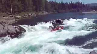 Лодка Солар-400 + Порог Базыбайский = Оверкиль!