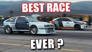SKYROCCO VS AUDI S2 EPIC RACE by HEED-AUTO | Autokinisimag