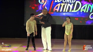 World Latin Dance Cup 2018 Day 3, Thursday, SEMIFINALS
