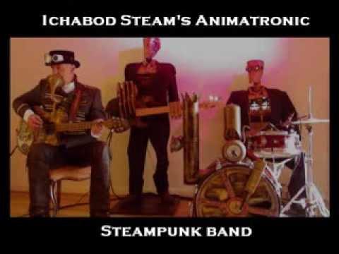 Ichabod Steam's Animatronic Steampunk Band