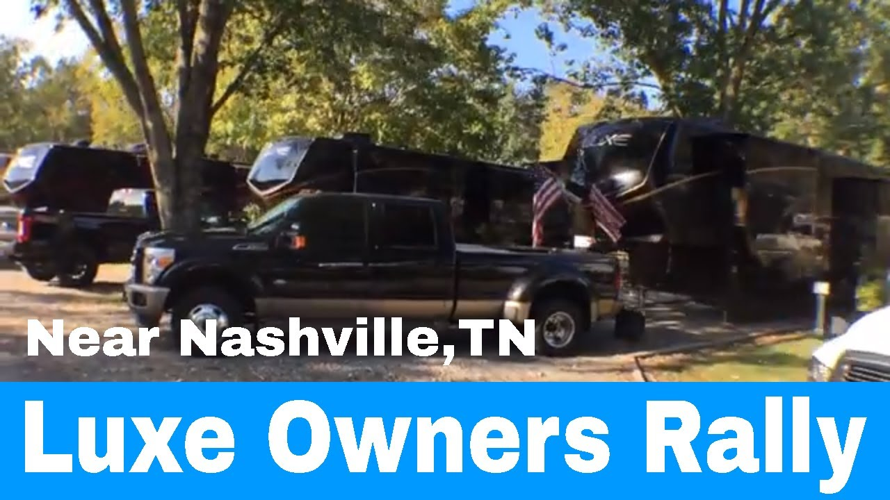 We just went to a Luxe Owners Rally near Nashville, TN - Sept 28th 2019