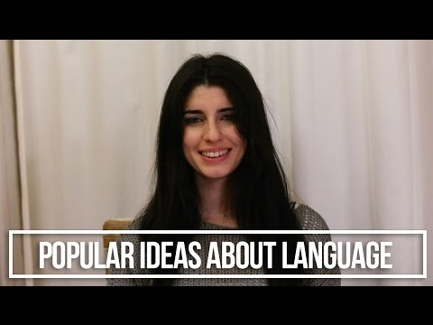 Popular Ideas About Language Learning