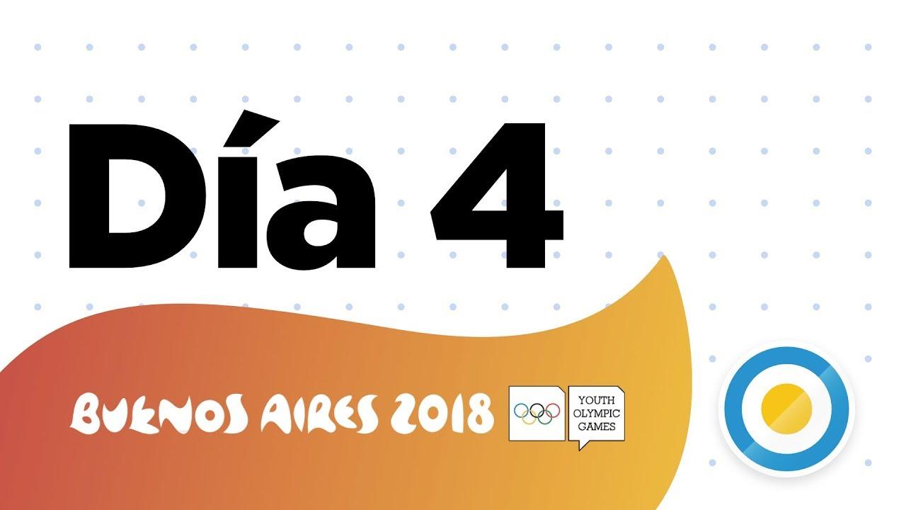 Dia 04 Juegos Olimpicos De La Juventud 2018 Youtube