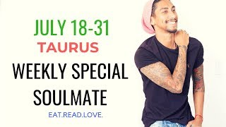 """TAURUS  SOULMATE """"ROLLER COASTER TILL WHEN, MARK THE DATE """" JULY 18 31 WEEKLY TAROT READING"""