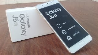 Samsung Galaxy J5 2016 Unboxing