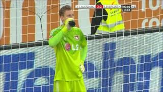 Video Gol Pertandingan Bayer Leverkusen vs FC Augsburg