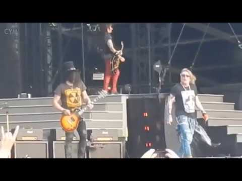 Guns N' Roses Welcome to the Jungle Nijmegen 4-7-2018