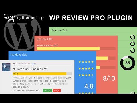 WP Review Pro Plugin Setup Tutorial