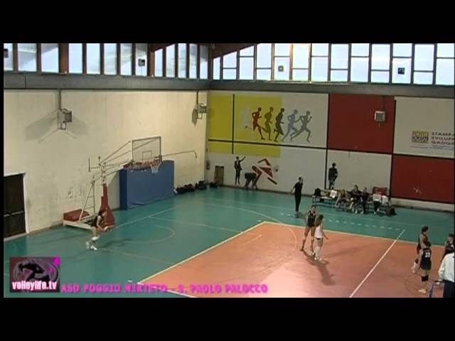 ASD Poggio Mirteto vs S. Paolo Palocco - 1° Set