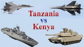 Tanzania vs Kenya Military Comparison 2017