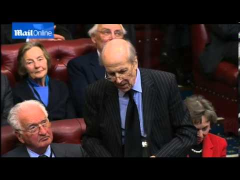 Norman Tebbit delivers heartfelt tribute to Baroness Thatcher