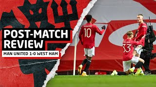 MCSAUCE To The Rescue!   Manchester United 1-0 West Ham   Post-Match Review