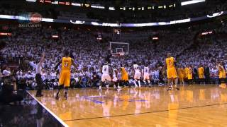 Paul george's 3-pointer forces ot in game 1!