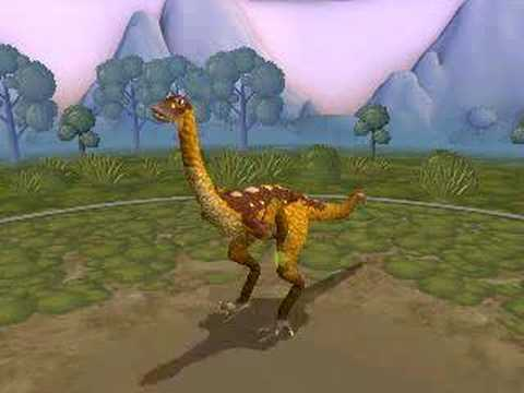 Struthiomimus - Spore Creature Creator Video