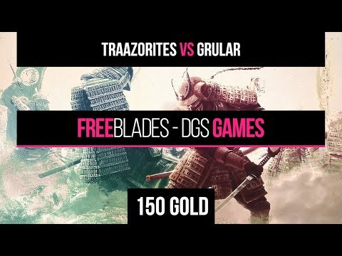 Freeblades by DGS Games - Traazorite vs Grular - 150 Gold - Battle Report