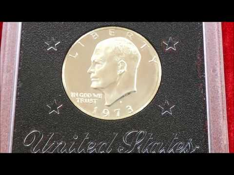 RARE EISENHOWER DOLLARS PT 2 HOW TO KNOW IF ITS SILVER!?