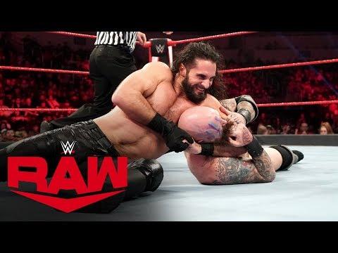Viking Raiders vs. Seth Rollins & Buddy Murphy – Raw Tag Title Match: Raw, Jan. 20, 2020
