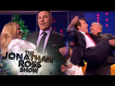Kylie Minogue and David Walliams Recreate 'Especially For You' Catch - The Jonathan Ross Show