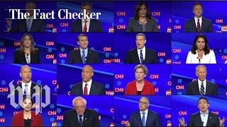 Fact-checking the second Democratic debate | The Fact Checker