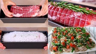 ARISTA AL SALE - Ricetta Facile per cuocere l'arista di maiale da condire e servire calda o fredda