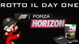 Rotto il Day One di Forza Horizon Limited Collector's Edition