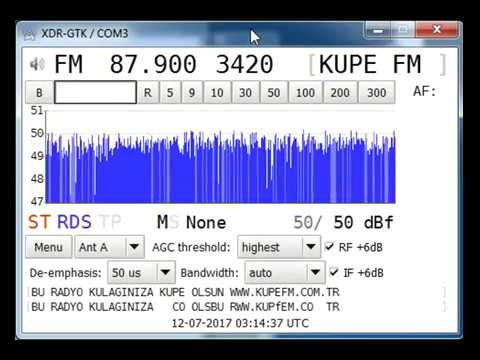 [Tropo] 87.9 MHz - Küpe FM - Pres. Kirklareli - Turkey (1038 Km) RDS