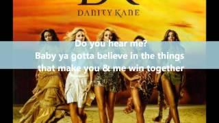 Danity Kane - Ride for you ( Lyrics)