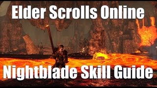 ESO - Nightblade Skill Guide with Morphs