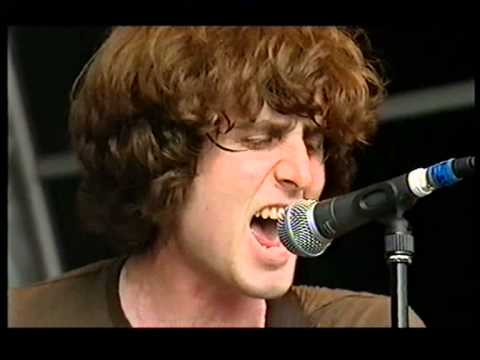 Glastonbury 2003   The Rapture with Bez   House Of Jealous Lovers live