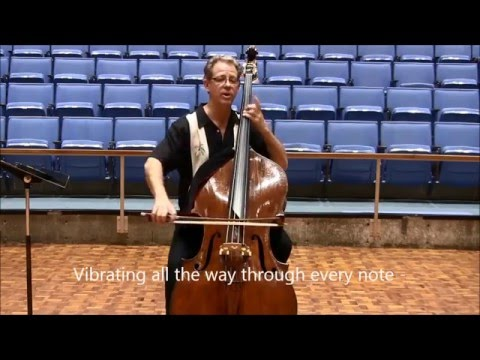 Miraculous Arpeggio Fingerings for the Double Bass - 2 8va