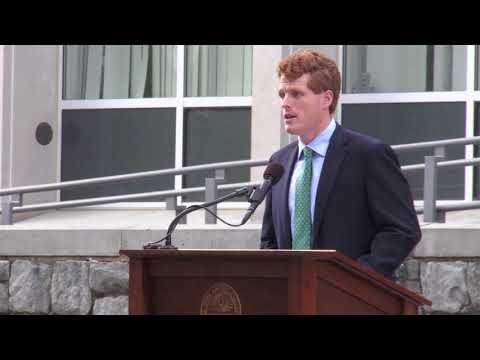 Congressman Joe Kennedy III - Amherst College - October 29, 2017
