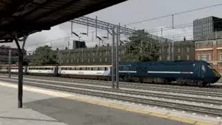 Railworks 2013 - Class 43 HST EastCoast Blue #43312