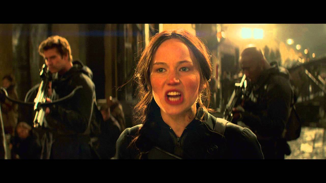 The Hunger Games Mockingjay Part 2 Clip Katniss Gets