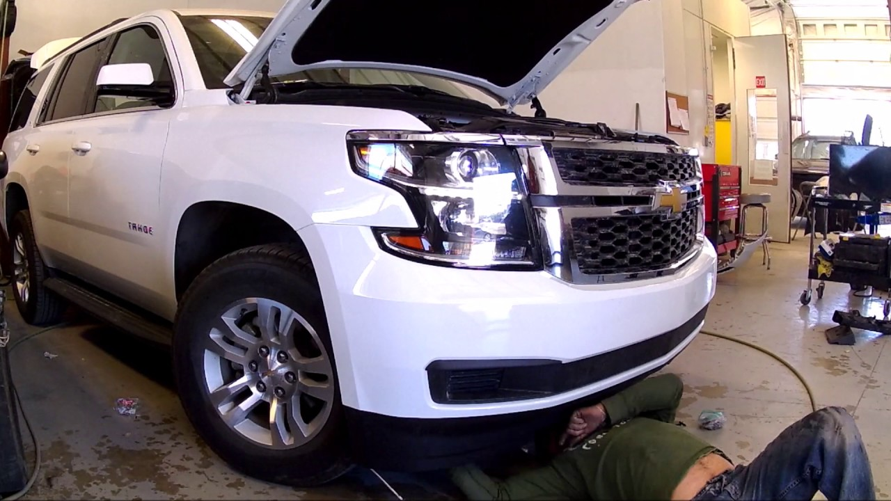 chevy tahoe 2016 front bumper installation youtube. Black Bedroom Furniture Sets. Home Design Ideas