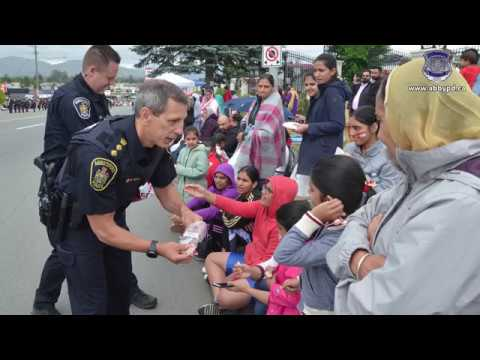 Abbotsford Police Department Canada Day 2018