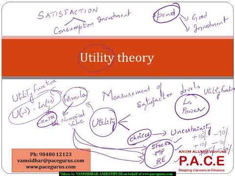 Utility Theory Concepts