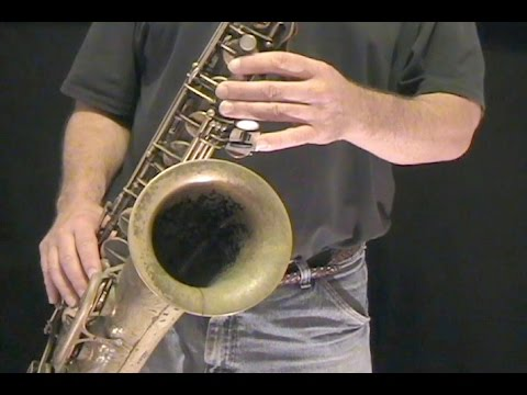 How to Play Saxophone - Getting Started on Tenor Sax