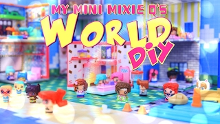 DIY - How to Make: My Mini Mixie Q's World - Dollhouse Play Set - Doll Crafts - 4K